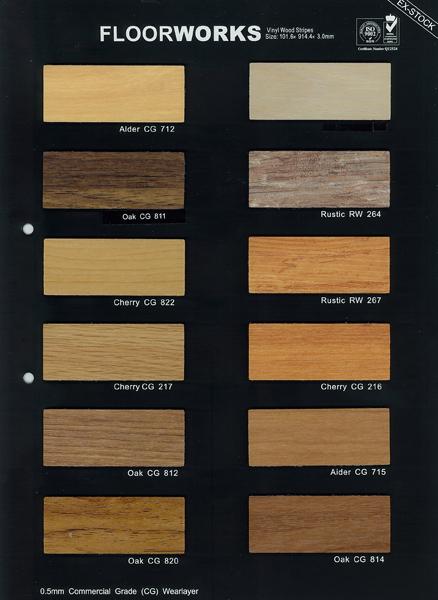Lovely Vinyl Wood Strips Floor