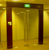 Wooden Doors Glass Doors