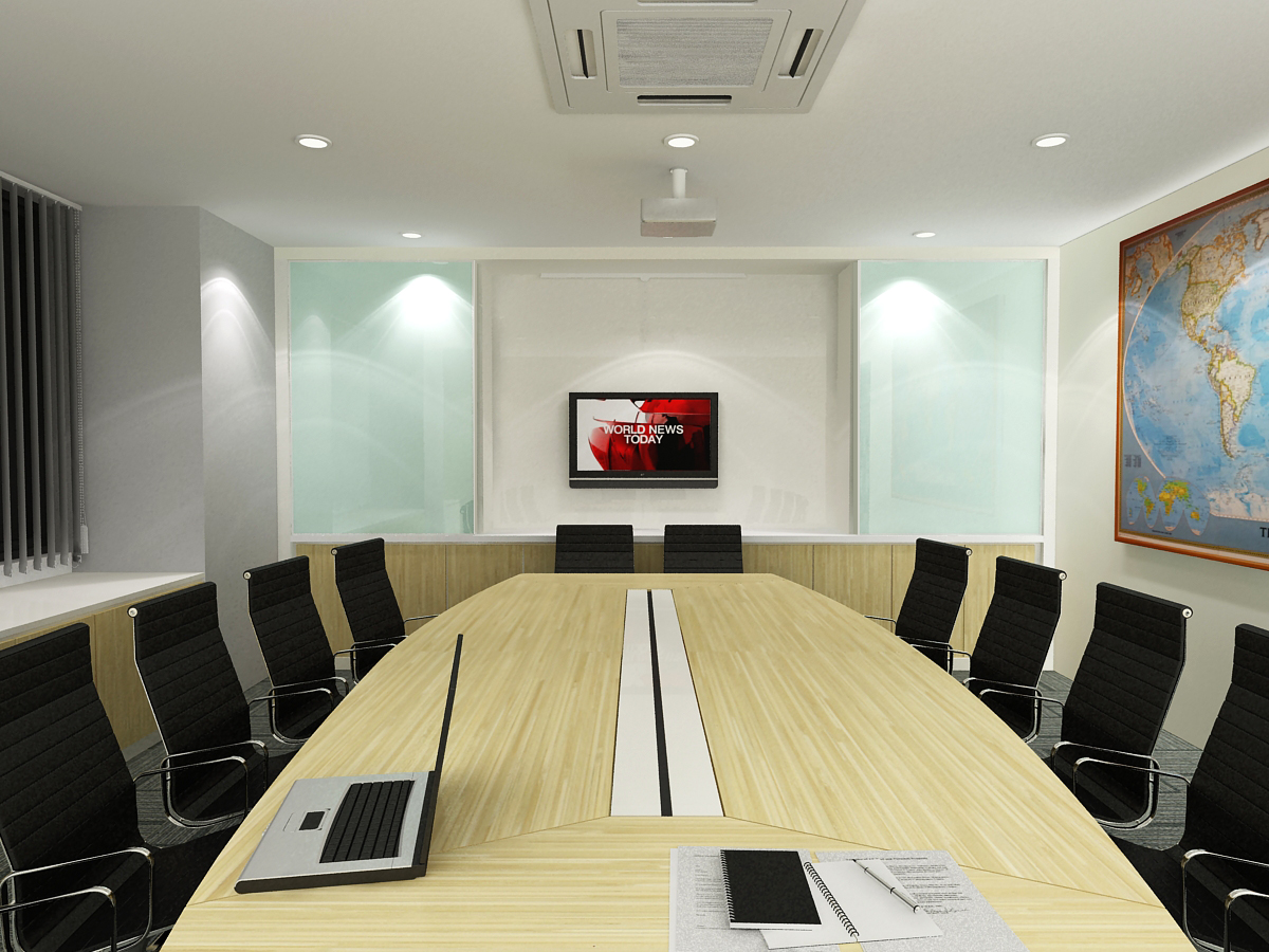 Above Board Room With Sliding Gl White Tv Cabinet Meeting Cable Management Compartment