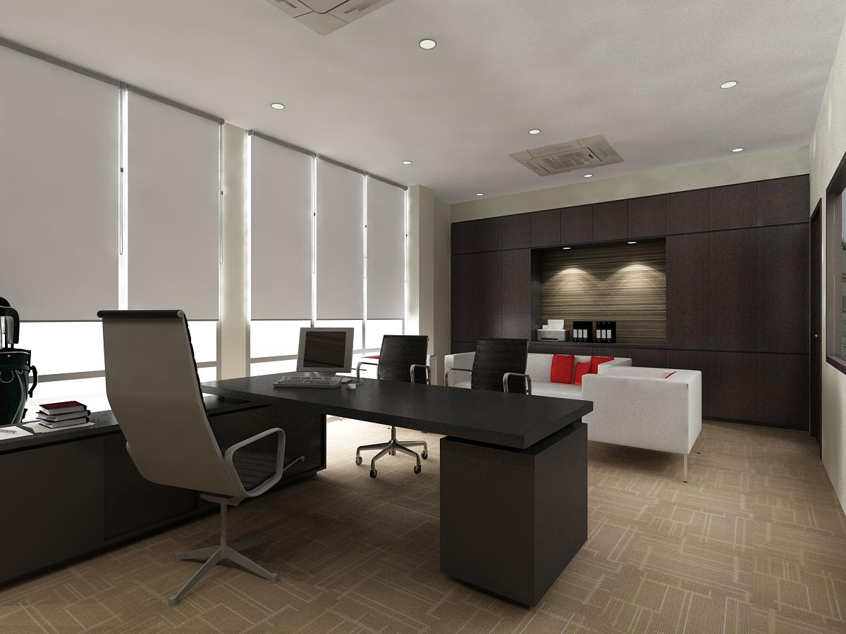 Office interior renovation office renovation interior for Interior office design ideas photos layout