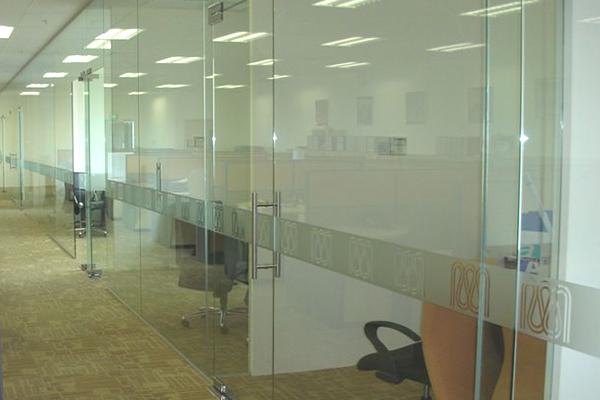 Gypsum Partitions With Glass : Renovation contractors partition ceiling singapore
