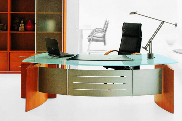 Glass Director Table
