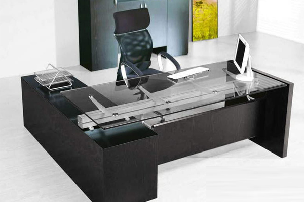 Glass Table for Office