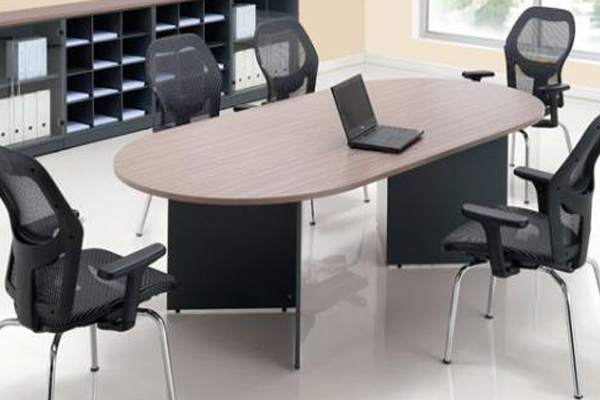 oval shape meeting table