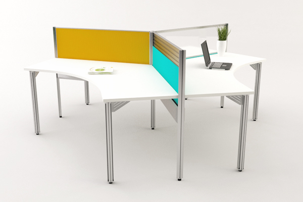Open Concept Office Workstations